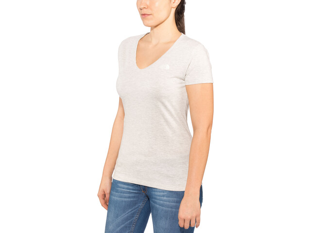 The North Face Simple Dome Kurzarm T-Shirt Damen wild oat heather
